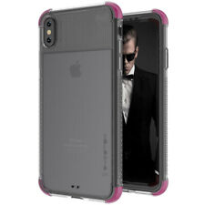 Ghostek COVERT2 Tough Clear Silicone Case Cover for Apple iPhone XS Max - Pink