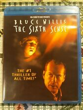 The Sixth Sense. Bruce Willis is Dr. Malcolm Crowe. Blu-ray disc.
