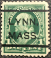 Scott #279 1898 US Benjamin Franklin Postage Stamp Deep Green XF NH
