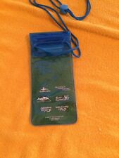 SeaWorld Parks Waterproof Neck  Lanyard ID Badge Holder Money Pouch