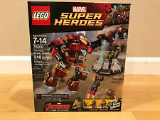Lego Hulk Buster Smash Marvel Super Heroes 76031 - New and Sealed - Ships Fast!