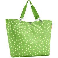 reisenthel shopper XL spots green 35 L Schultertasche Umhängetasche Strandtasche