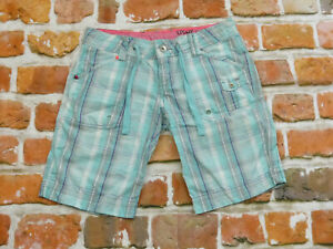 O´Neill SPORTS Shorts Light Blue Shorts Bermuda Checked Size: 26 Tip Top
