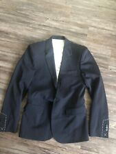 Brand New Maison Martin Margiela for H&M  Size 34r Black Suit Jacket MMM HM