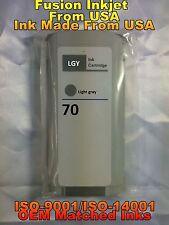 compatible INK Cartridge lgy light gray for HP 70 C9451A z3100 z3200 z5200 jmk