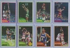1981 Topps 16 Card Lot Inc. Abdul-Jabbar, Archibald (x2), Bill Laimbeer Rookie