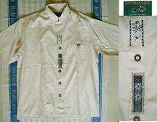 43-44 Kurzarm Herren-Trachtenhemden mit Kragenweite