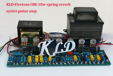 Eyelet board power output transformers of KLD 18w spring reverb guitar amp