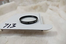 PHOTAX 49MM CRYSTAL CROSS FILTER AND CASE   cleaned and checked
