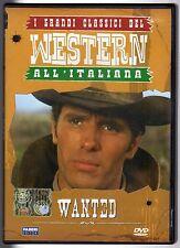 dvd I GRANDI CLASSICI DEL WESTERN ALL'ITALIANA Wanted
