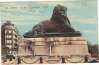 75 - cpa - PARIS - Le lion de Belfort