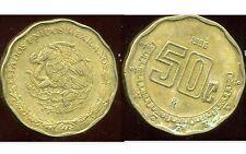 MEXIQUE  50 centavos  1996