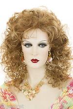 Medium Long Blonde Brunette Red Grey Curly Wigs