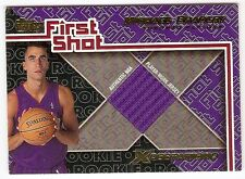 MICHAEL BRADLEY ROOKIE JERSEY 2001-02 TOPPS XPECTATIONS FIRST SHOT FS-17 RAPTORS