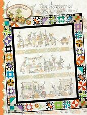 Mystery of the Salem Witches Quilt Guild Quilt Pattern set
