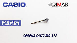 Casio Krone / Uhren Crown, Für Modelos. MQ-398