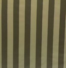 "NEW DELHI STRIPE GOOSE TAUPE PATE S3018 100% SILK MULTIUSE FABRIC BY YARD 54""W"