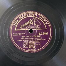 78rpm GLENN MILLER say si si / farewell blues