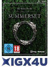 The Elder Scrolls Online: Summerset Edition TESO PC Key DE/EU