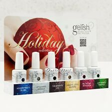 NEW! HARMONY GELISH HOLIDAY 2012 Collection Soak Off Gel Set 6 Color >>Ship 24H!