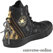 531521f1ff8 New listingWomen s CONVERSE All Star Black TRIPLE ZIP HIGH TOP Trainers  Boots SIZE UK 3.5