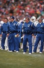 NFL Ron Meyer Indianapolis Colts Head Coach Original 35mm Color Slide Football!