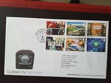 GB 2005 CLASSIC ITV FDC LONDON PMK