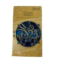 Disney pin D23 Stained Glass 2014 Walt Disney WDW Version New Limited Edition