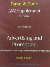 ANZ Supplement to Accompany Advertising and Promotion: An Integrated Marketing …
