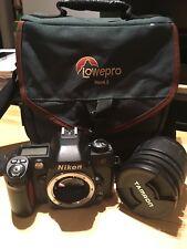 Nikon N80 35mm SLR Film Camera with Tamron 28-200mm AF Aspherical Lens & Bag