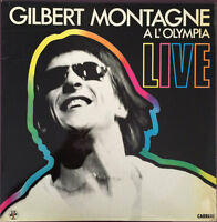 MONTAGNE Gilbert 2-LP Live A L'Olympia - FRANCE