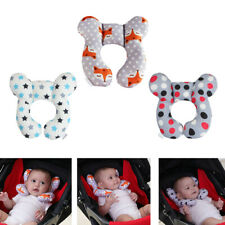 Baby U-Shaped Travel Auto Car Seat Stroller Head Neck Support Pillow Cushion Us