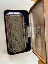 VINTAGE ROLLS RAZOR THE TRAVELER ENGLAND WITH INSTRUCTIONS IN CASE USED
