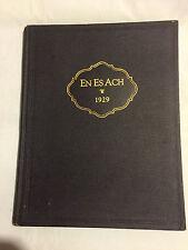 Nanticoke 1924 ENESACH  Nursing School Yearbook