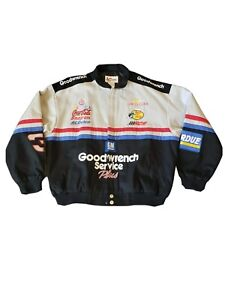 Vintage NASCAR Jacket Dale Earnhardt #3 Goodwrench Racing Youth Kids XL new