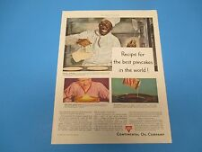 1948 Continental Oil Co., Recipe for the best pancakes.Print Ad  PA004