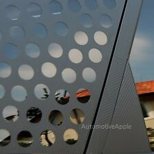 C Quarter Glass 4D Carbon Decal Sticker For Kia Soul