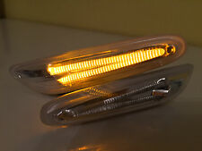 """Vetro trasparente LED Freccia laterale BMW Serie 1 E81/87/82 + 88 """"Clear-Look""""!"""