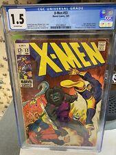 X-Men #53 CGC 1.5  Barry Windsor-Smith's 1st U.S. Comic Book Work..UNRESTORED