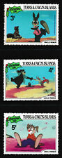 3c-5c, TURKS & CAICOS ISLANDS 'Christmas 1981 Uncle Remus' Stamps 3v - MNH