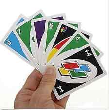 Bequemer Standard-Spaß 108Pcs UNO Spielkarten Spiel Spielraum Anweisung