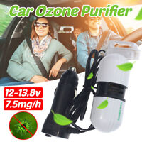 7.5mg/h Super Applied Car Ozone Ionizer Generator Vehicle Air Purifier Brand AU