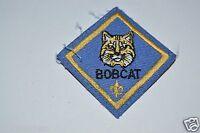 WOW Nice Vintage Cub Scouts BOBCAT Blue Uniform Patch BSA Rare