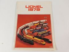 Vintage Original 1979 Lionel Toy Model Train Railroad Catalog
