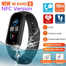 Original Xiaomi Mi Band 5 Smart Watch Bracelet AMOLED Screen Heart Rate Monitor