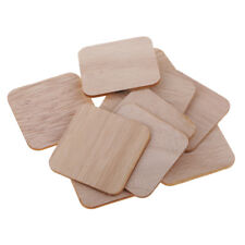 Varillas De Madera Balsa Cuadrado palos de madera para bricolaje Ornamento 50//80//100//130//150mm