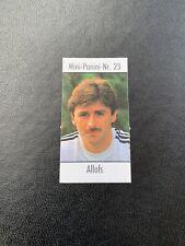 PANINI EURO88 1988 Germany RARE Coca-Cola Mini Panini Nr 23 Klaus Allofs