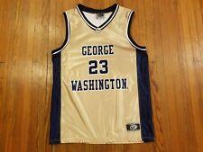 George Washington Colonials Basketball Gold OT Jersey #23 Boy's Size XL