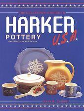 Harker Pottery Identification - History Patterns Marks Values / Scarce Book