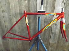 New-Old-Stock Bertin Frame and Fork (44 cm) w/Butted Steel Tubes...Red Finish